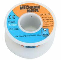 Припой в проволоке MECHANIC HX-T100 диаметр 0.4мм 55грамм c флюсом