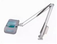Лупа-лампа с подсветкой CT-200E (3X) на струбцине