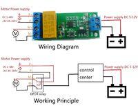 Модуль смены полярности питания мотора с циклом