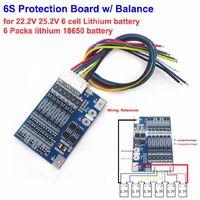 6S 8A 22.2 В Bms плата заряда  для 18650 Li-ion аккумулятора с балансировкой