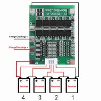 Драйвер заряда 4S 30A 14.8 В литий-ионных аккумуляторов 18650 с балансировкой
