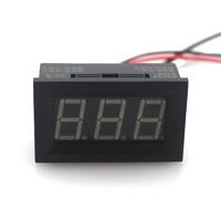 """Прямой цифровой амперметр постоянного тока со светодиодной панелью 0.56"""" на 10 Ампер 4.5V - 24V"""