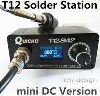 MINI T12 OLED паяльная станция DC версия T12-942 QUICKO
