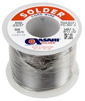 Припой оловянно-свинцовый ПОС-63, ASAHI Sn63/Pb37 FC5005, 2,0 мм