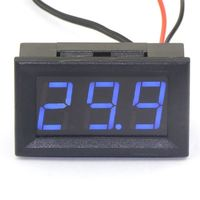 Автомобильный термометр в корпусе с выносным датчиком зондом -50 до+ 110 C