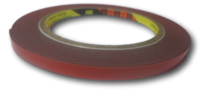 Двусторонняя клейкая лента 3M акриловая GT6008F (6мм* 5м. 0.8мм) (серый)