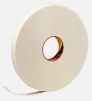 Двусторонняя клейкая лента 3M вспененный ПЭТ 9528W (6мм * 5м 0.8 мм) (белый)