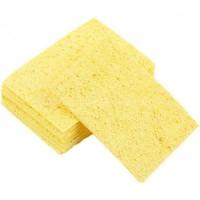 Губка прямоугольная 6.5X4.0 жёлтая