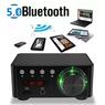 Усилитель 2 х 50 вт в корпусе, Biuetooth 5.0, USB плейер, TF- card