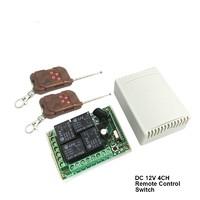 ДУ 4 канала с пультом DC 12В 433 МГц