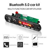 MP3, AUX вход, USB, FM, TF, пульт ДУ, Bluetooth 5,0 усилитель 2х3 вт