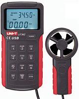 Измеритель скорости и температуры воздушного потока (термоанемометр) UNI-T UT362