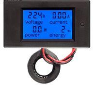 PZEM-061 Цифровой вольтамперметр 220V / 100А, измеритель мощности, счётчик энергии