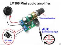 Мини усилитель на LM386