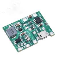 Драйвер заряда 1S 18650 c DC DC повышающим модулем