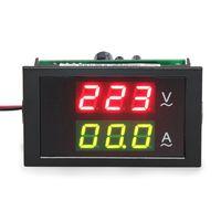 АС 300V 100A Амперметр/вольтметр переменного тока светодиодный цифровой