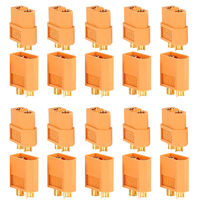 XT60 разъём для литий - полимерных аккумуляторов радиоуправляемых моделей