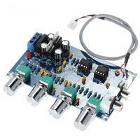 Предварительный стерео усилитель HI FI на модуле NE5532