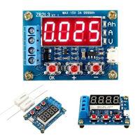 Измеритель ёмкости / тестер литий-ионных, свинцово-кислотных аккумуляторов 1.5V - 12V